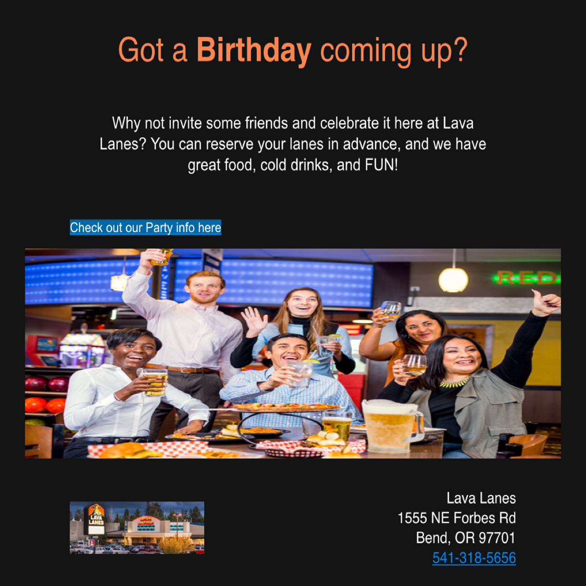 Birthday reminder email